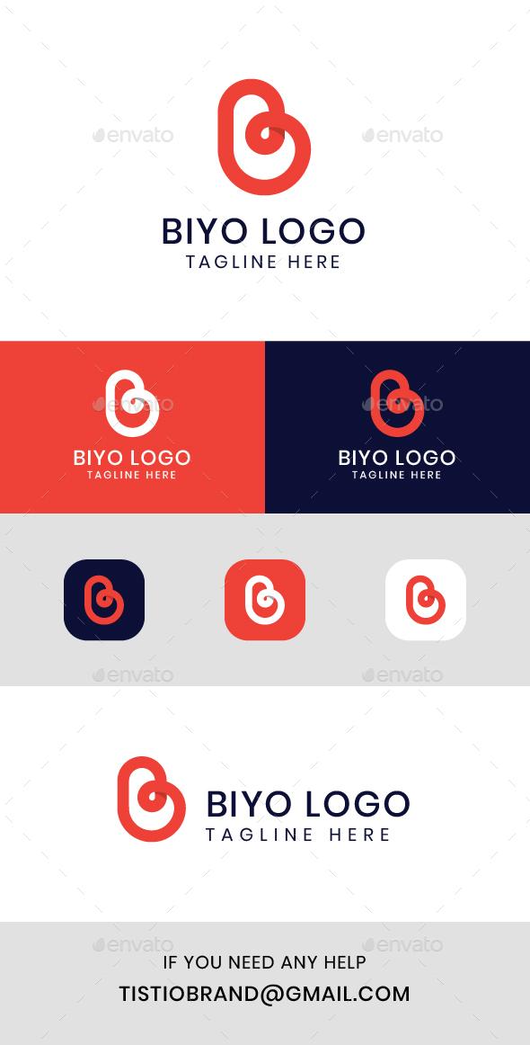 Biyo B Letter Logo