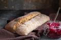 Ciabatta bread and jam - PhotoDune Item for Sale