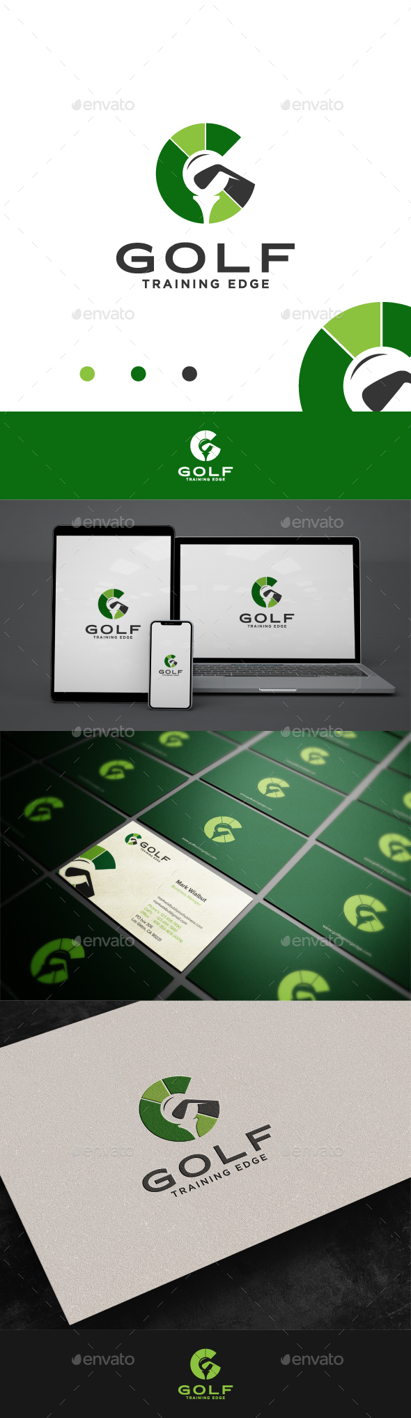 Golf Logo - Letter G