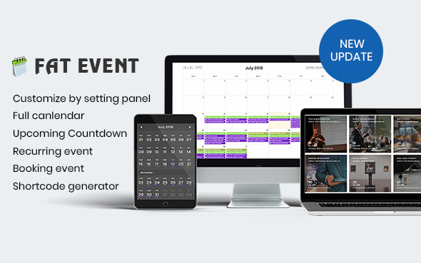 FAT Event - WordPress Event and Calendar Booking Download