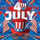 Usa 4th Of July National Day Flyer - GraphicRiver Item for Sale