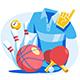 Sports Goods Set - GraphicRiver Item for Sale