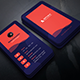 Blue Red Creative Business Card - GraphicRiver Item for Sale