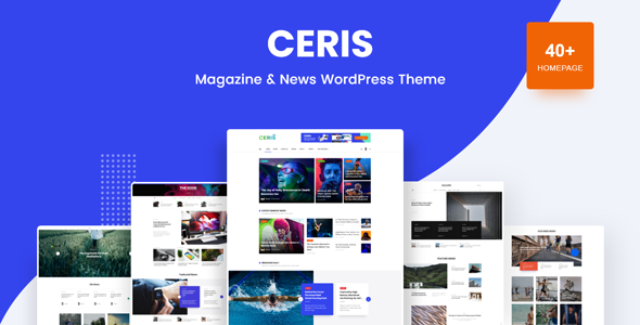 Photo of Ceris – Magazine & Blog WordPress Theme Full Download