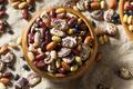 Raw Dried Organic Bean Assortment - PhotoDune Item for Sale