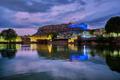 Mehrangarh fort in twilight. Jodhpur, India - PhotoDune Item for Sale