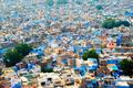 Aerial view of Jodhpur Blue City. Jodphur, Rajasthan, India - PhotoDune Item for Sale