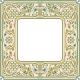 Victorian Floral Square Frame - GraphicRiver Item for Sale