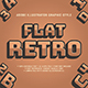 5 Retro Text Effect Graphic Styles Vector - GraphicRiver Item for Sale