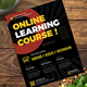 Online Learning Course Class Flyer - GraphicRiver Item for Sale