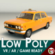 Low Poly Taxi Cab 04 - 3DOcean Item for Sale