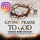 Praise Worship Church Instagram Banner - GraphicRiver Item for Sale