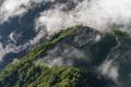 Fog rolling over hills at sunrise - PhotoDune Item for Sale