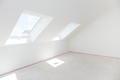 Loft refurbishment - empty room with skylight ready for renovation and new floor - PhotoDune Item for Sale