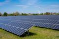 Solar panels with wind turbines - PhotoDune Item for Sale