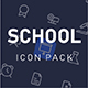 School and Education icon pack - GraphicRiver Item for Sale