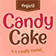 Candy Cake ~ Sweet Font - GraphicRiver Item for Sale