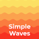 Simple Waves Backgrounds - GraphicRiver Item for Sale