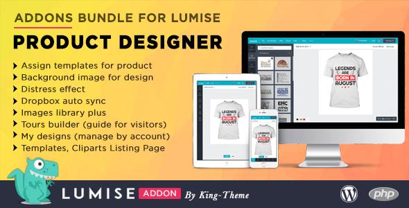 Addons Bundle for Lumise Product Designer Download