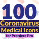 Corona Virus Medical Icons - VideoHive Item for Sale