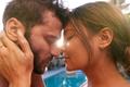 Romantic Hispanic Couple Outdoors Enjoying Summer Pool Party - PhotoDune Item for Sale