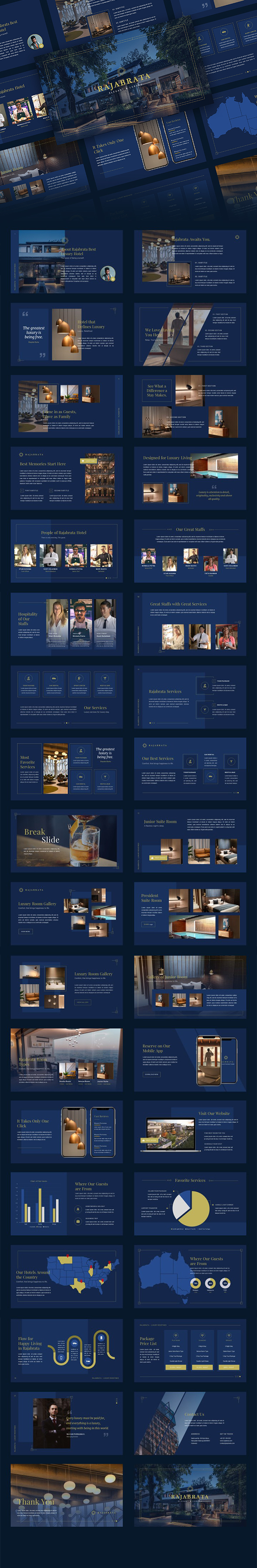 Rajabrata - Elegant & Luxury Google Slides Template