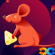 Mouse Holding Cheese - GraphicRiver Item for Sale