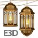 Eastern Lantern Fanous for Element 3D - 3DOcean Item for Sale