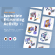 Isometric E-Learning Activity v2 - GraphicRiver Item for Sale