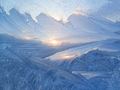 Beautiful ice pattern and sunlight - PhotoDune Item for Sale