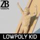 Lowpoly Kid 016 - 3DOcean Item for Sale
