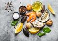 Seafood fresh assortment - PhotoDune Item for Sale