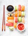 Sushi assorted set - PhotoDune Item for Sale