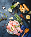 Raw fish and ingredients - PhotoDune Item for Sale