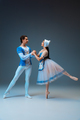 Young and graceful ballet dancers as Cinderella fairytail characters - PhotoDune Item for Sale