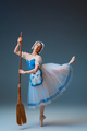 Young and graceful female ballet dancer as Cinderella fairytail character - PhotoDune Item for Sale