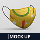 Face Mask Mockup - Fabric Mask - GraphicRiver Item for Sale