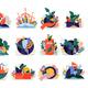 Eco Nature Icon Set - GraphicRiver Item for Sale