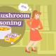 Dangerous Mushroom Poisoning Composition - GraphicRiver Item for Sale
