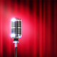 Microphone Stand Up Show Realistic Composition - GraphicRiver Item for Sale