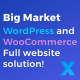 Big Market for WooCommerce and WordPress  - Full website solution! - CodeCanyon Item for Sale
