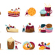 Sweets And People Recolor Icons Set - GraphicRiver Item for Sale
