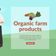 Organic Farm Products Background - GraphicRiver Item for Sale