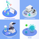 Isometric Vaccination Design Concept - GraphicRiver Item for Sale