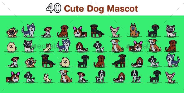 40 Dog Mascots