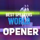 Creative  Opener Promo Event - VideoHive Item for Sale