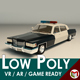 Low Poly Police Car 04 - 3DOcean Item for Sale