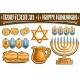 Vector Set for Hanukkah - GraphicRiver Item for Sale
