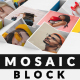 Mosaic Block Photo Reveal - VideoHive Item for Sale