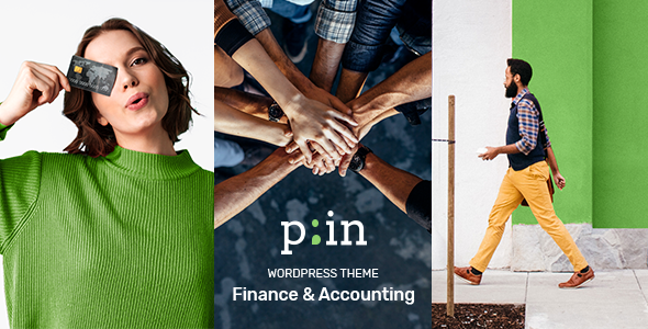 PrimeInvest – Finance WordPress Theme Preview